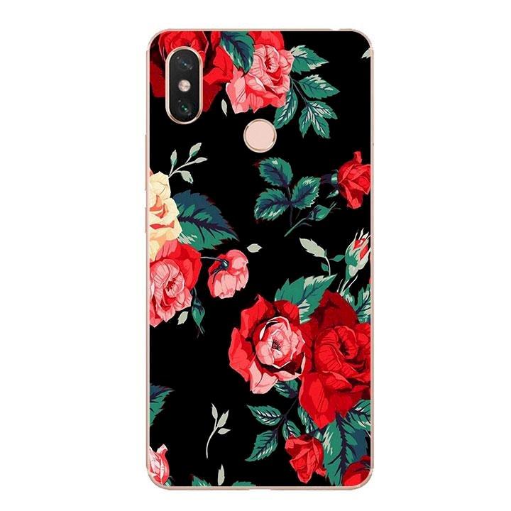 Ốp lưng dẻo cho điện thoại Xiaomi Mi Max 3 - Rose 01
