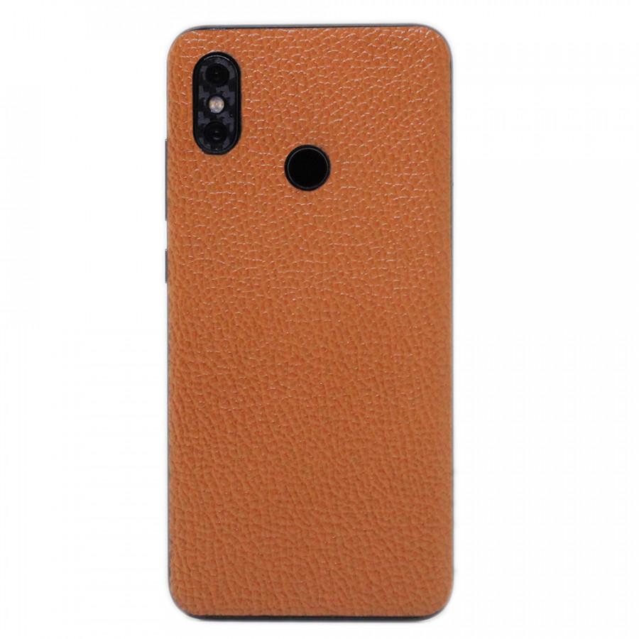 Ốp da dán cho Xiaomi Mi8 (Nâu N2)