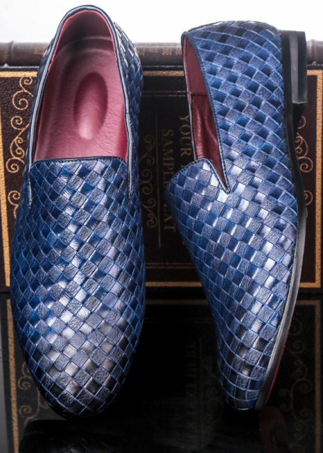 Giày mọi nam, giày lười nam big size số 44 45 46 47 48 cho chân to lớn ngoại cỡ - GL008