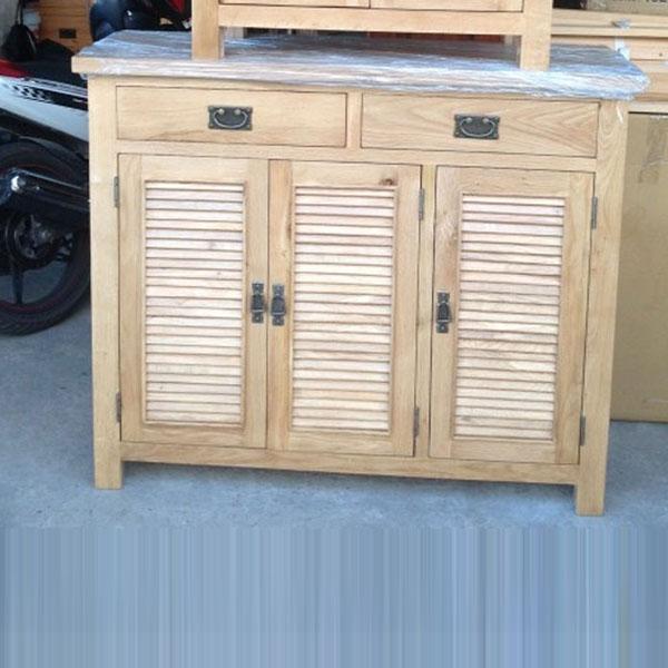 Tủ giày gỗ sồi mỹ 1m2