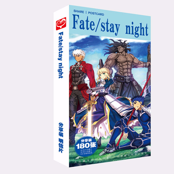 Postcard fate stay night 180 ảnh ver 1