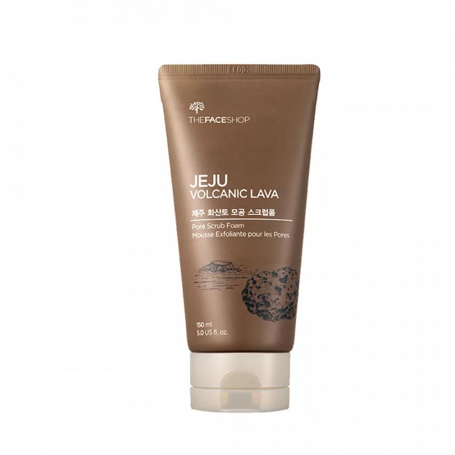 The Face Shop Jeju Volcanic Pore Scrub Foam (150ml)