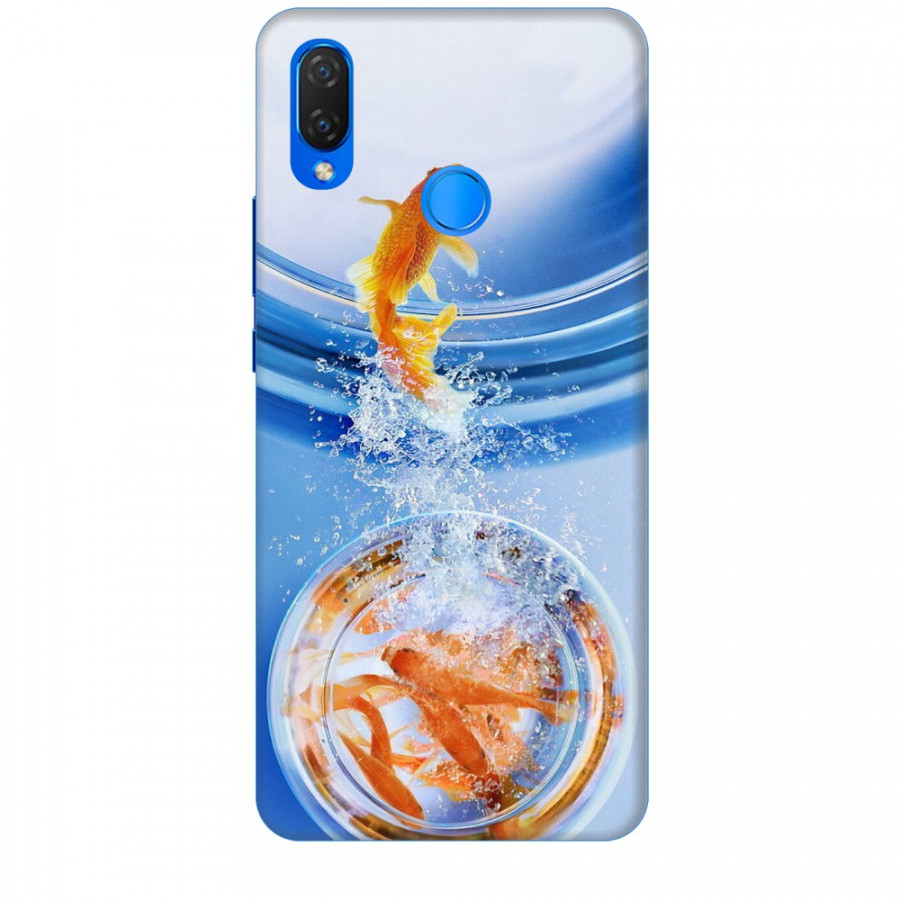 Ốp lưng dành cho điện thoại HuaweiNOVA 3I Cá Betta Vàng