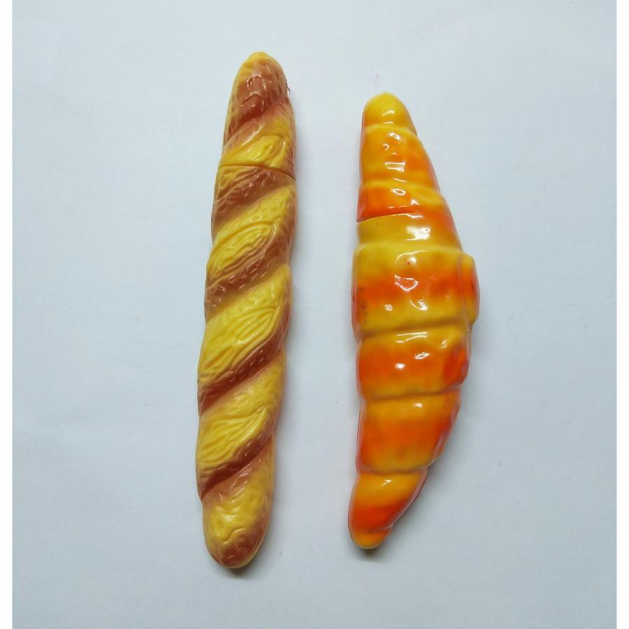 Bộ 2 Bút Bi Kiểu Dáng Bánh Mì - Bánh Xu