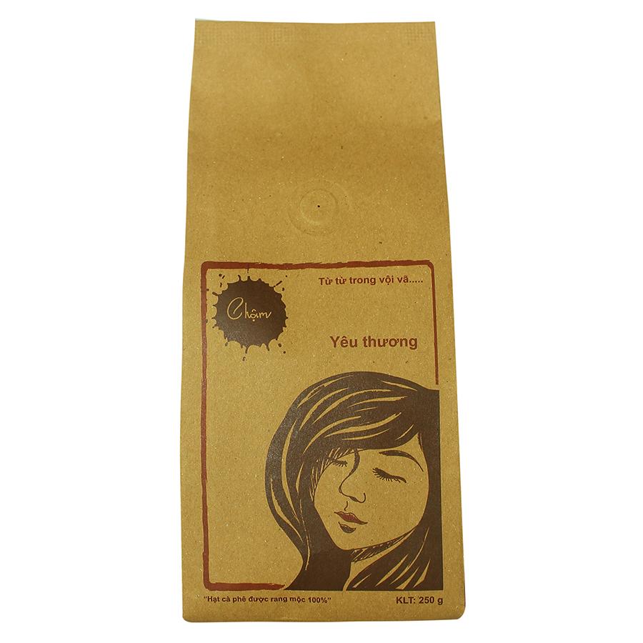 Cà Phê Bột Nguyên Chất Chậm Coffee Yêu Thương (250g)