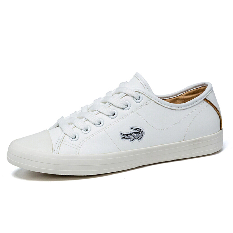 Cartier crocodile CARTELO casual white shoes women
