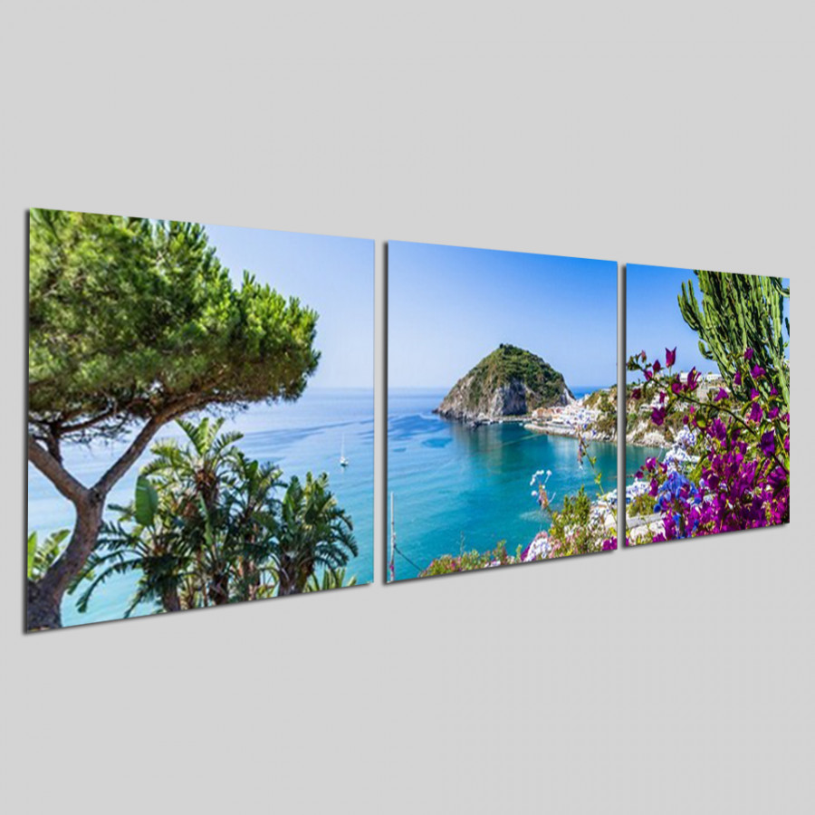 Bộ tranh 3 tấm phong cảnh biển tuyệt đẹp - tranh gỗ treo tường - dạng hình vuông từng tấm - 2148311 , 9036522836545 , 62_13698670 , 1300000 , Bo-tranh-3-tam-phong-canh-bien-tuyet-dep-tranh-go-treo-tuong-dang-hinh-vuong-tung-tam-62_13698670 , tiki.vn , Bộ tranh 3 tấm phong cảnh biển tuyệt đẹp - tranh gỗ treo tường - dạng hình vuông từng tấm