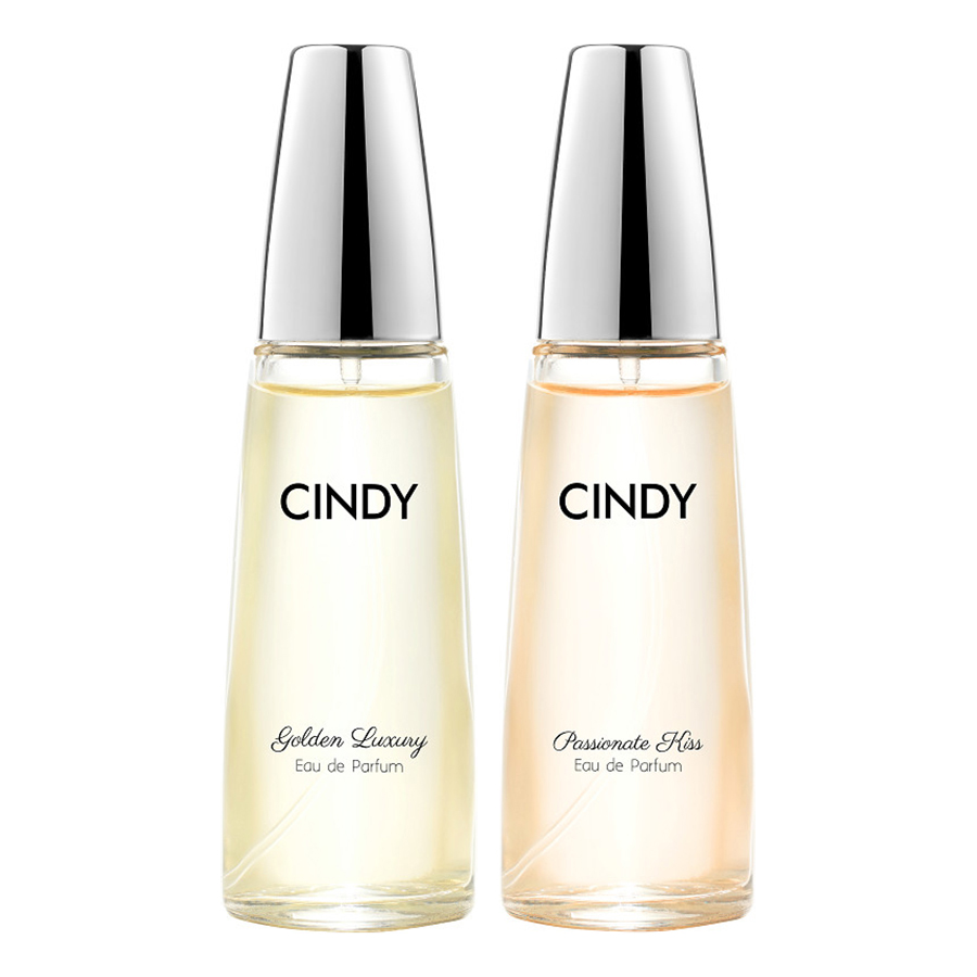 Bộ nước hoa Cindy 30ml (Golden Luxury + Passionate Kiss)