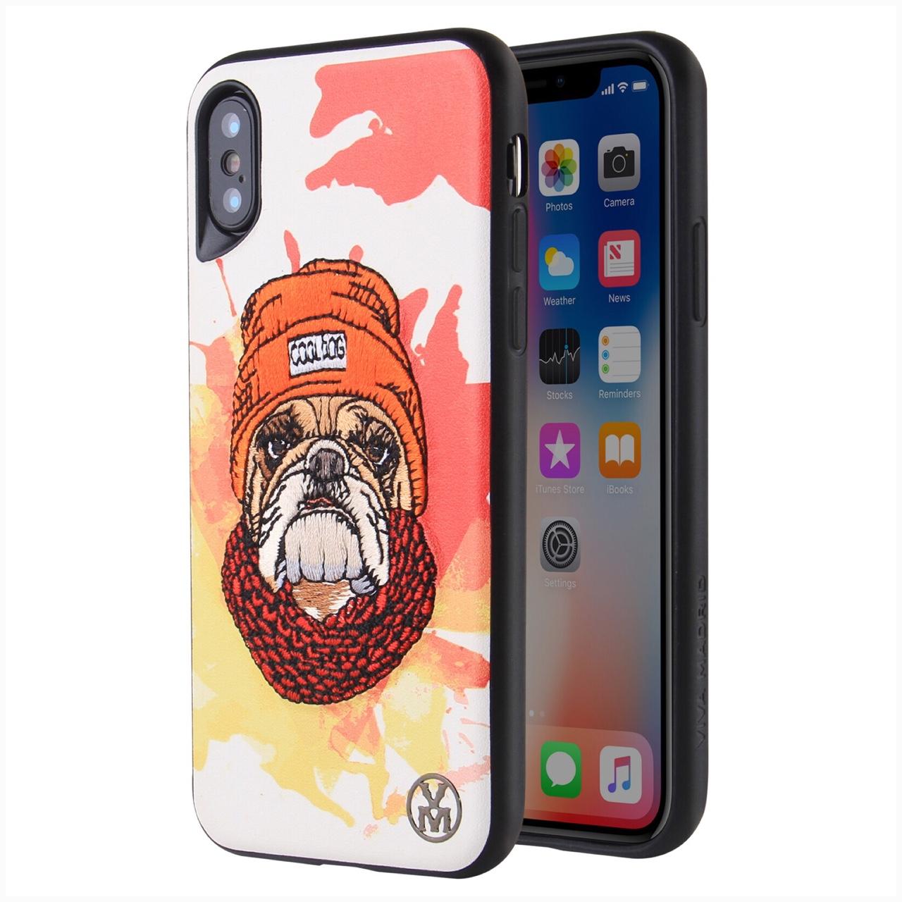 Ốp Lưng Dành Cho iPhone X hiệu VIVA Perro Woofgang - Cam