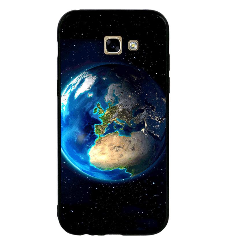 Ốp lưng viền TPU cho Samsung A5 2017 - Earth