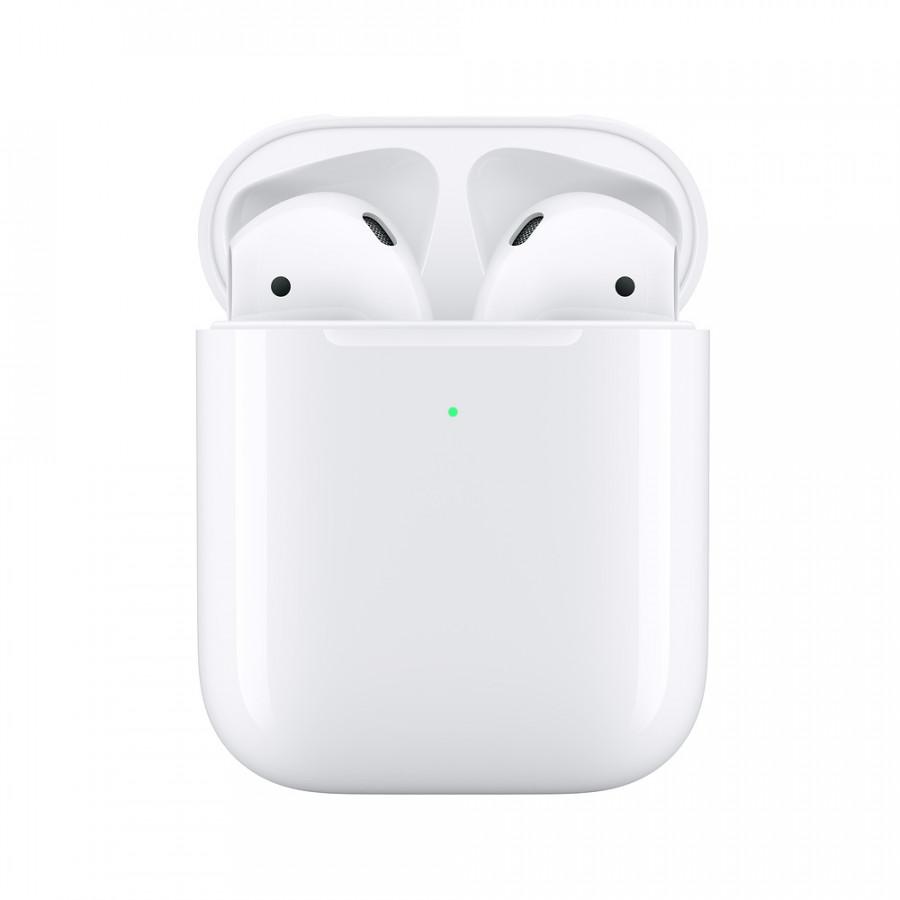 Tai Nghe Bluetooth Apple AirPods 2 True Wireless - MRXJ2 (Hộp Hỗ Trợ Sạc Không Dây) - Hàng Nhập Khẩu - 1775677 , 6813320581715 , 62_12870999 , 7900000 , Tai-Nghe-Bluetooth-Apple-AirPods-2-True-Wireless-MRXJ2-Hop-Ho-Tro-Sac-Khong-Day-Hang-Nhap-Khau-62_12870999 , tiki.vn , Tai Nghe Bluetooth Apple AirPods 2 True Wireless - MRXJ2 (Hộp Hỗ Trợ Sạc Không Dâ