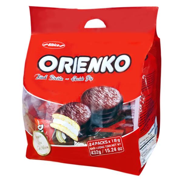 Bánh Orienko socola  432g - 1756294 , 7590656945471 , 62_12334988 , 34500 , Banh-Orienko-socola-432g-62_12334988 , tiki.vn , Bánh Orienko socola  432g