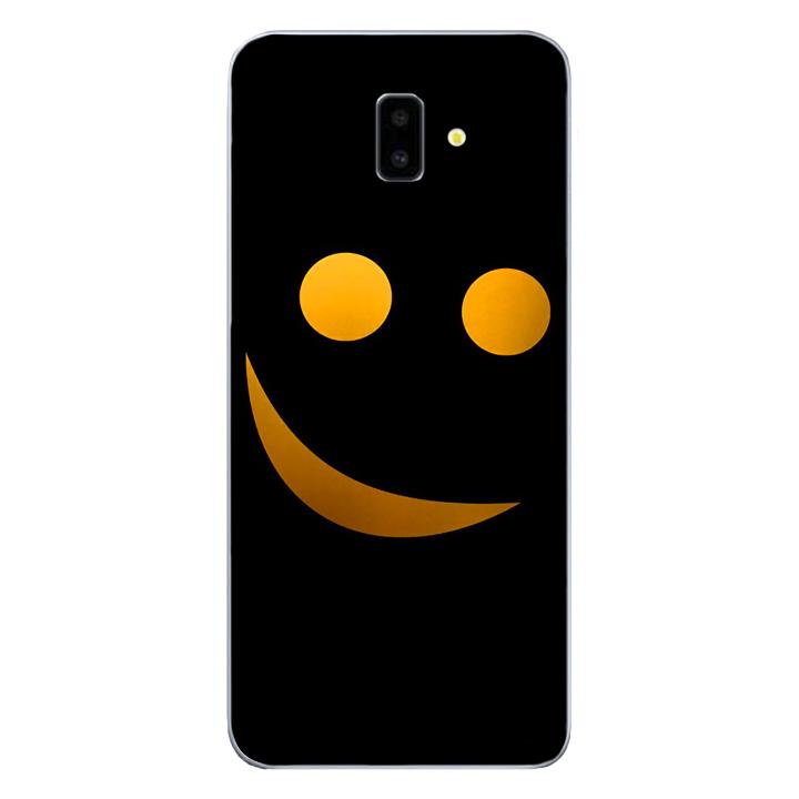 Ốp lưng dẻo cho điện thoại Samsung Galaxy J6 PLus_Smile 03