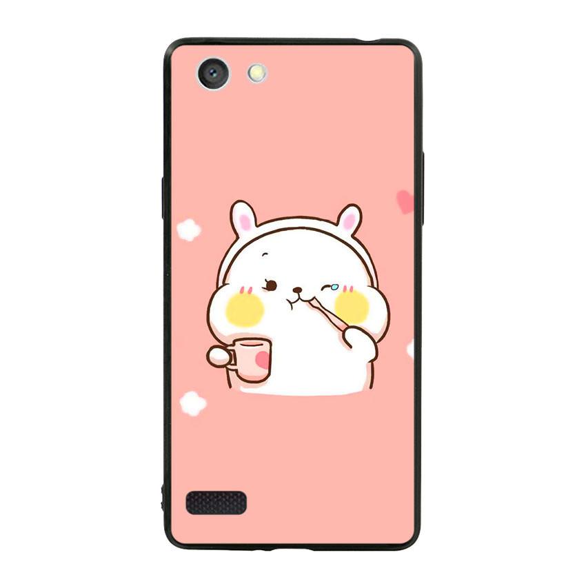 Ốp lưng viền TPU cho điện thoại Oppo Neo 7 - Cute 06
