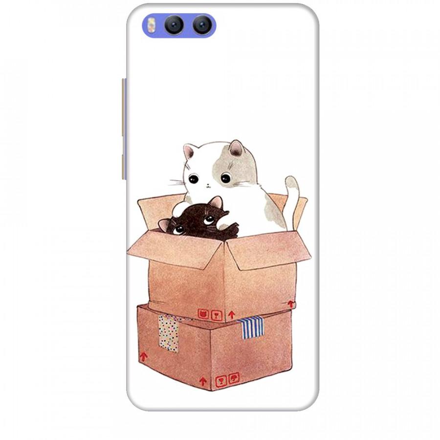 Ốp lưng dành cho điện thoại XIAOMI MI 6 Mèo Con Dễ Thương