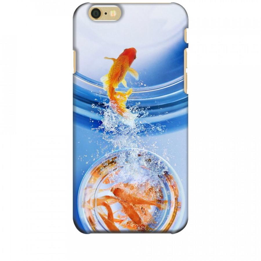 Ốp lưng dành cho điện thoại IPHONE 6 Cá Betta Vàng