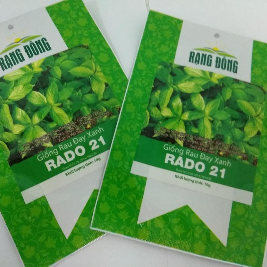 Hạt Giống Rau Đay RADO 21 - 7533640 , 6862897769125 , 62_16381401 , 28500 , Hat-Giong-Rau-Day-RADO-21-62_16381401 , tiki.vn , Hạt Giống Rau Đay RADO 21