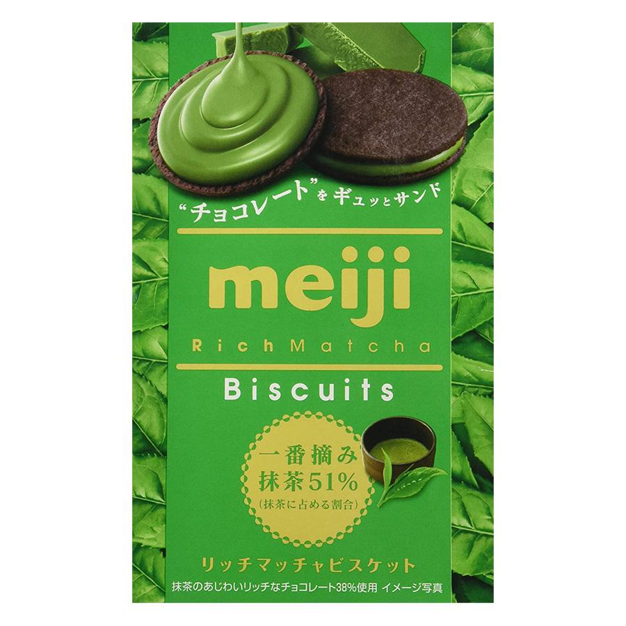 Bánh Biscuits Meiji Trà Xanh (99g)