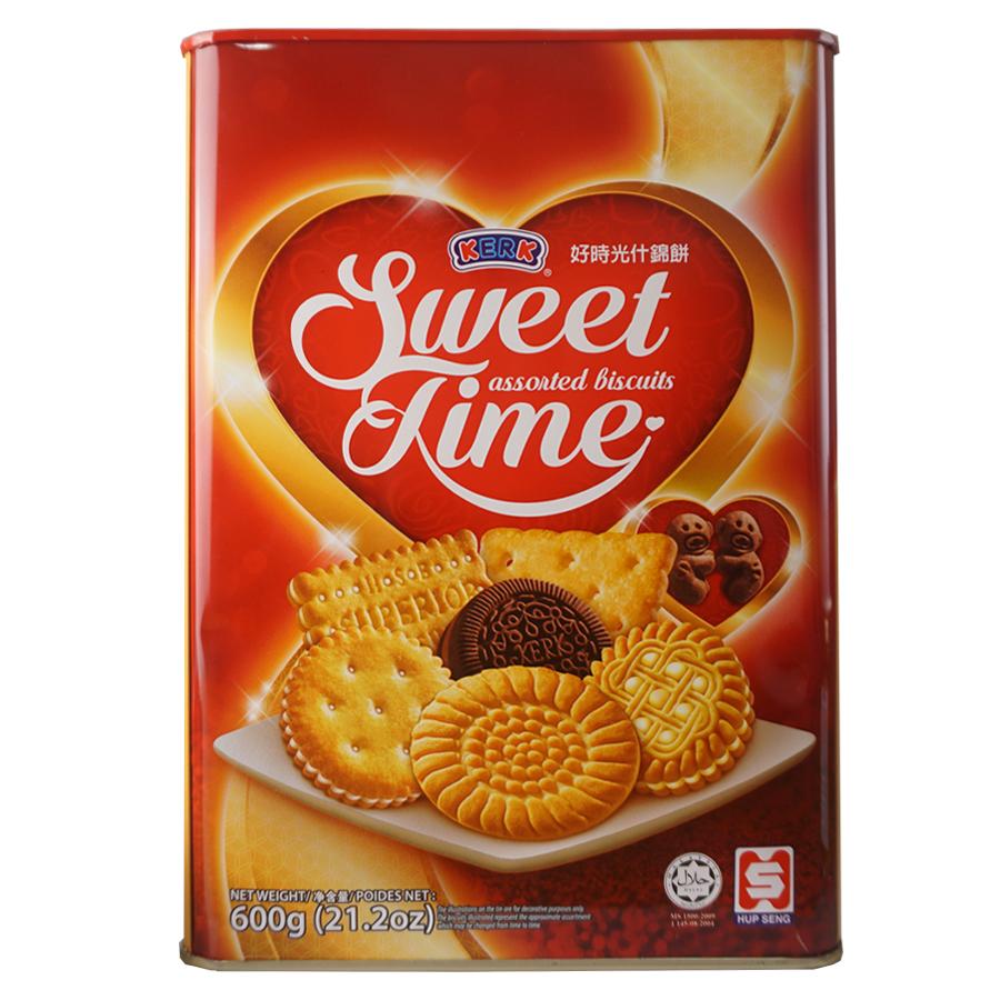 Bánh Quy Thập Cẩm Hiệu Kerk - Sweet Time (600G)