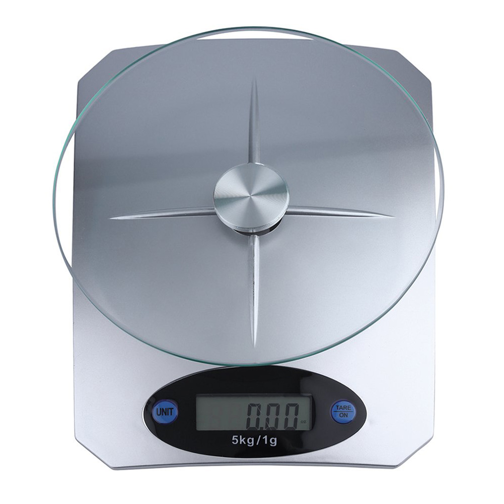 Household 5kg/1g Precision Food Weighing Electronic LCD Digital Kitchen Scale