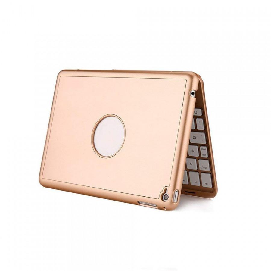 Bàn phím Bluetooth dành cho iPad Mini 1/2/3/4 - Hàng cao cấp có 7 màu đèn cho bàn phím