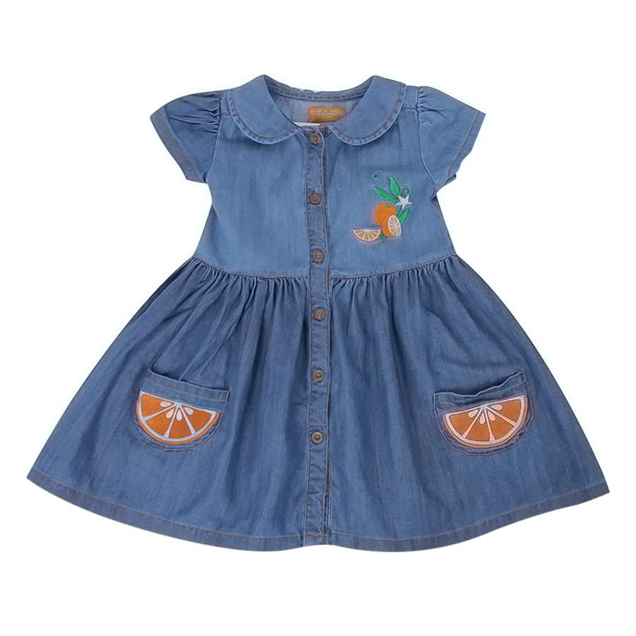 Đầm Jeans TE SN VTA Kids - Xanh