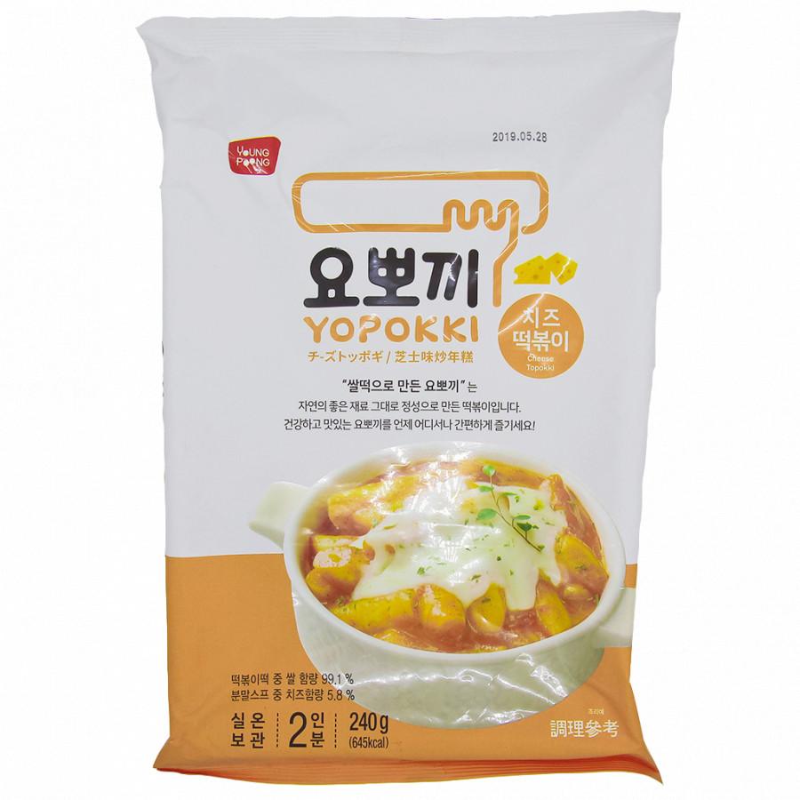 Bánh gạo Hàn Quốc YOPOKKI vị Phomai (gói 240g) - 18357321 , 2851654098114 , 62_10696558 , 350000 , Banh-gao-Han-Quoc-YOPOKKI-vi-Phomai-goi-240g-62_10696558 , tiki.vn , Bánh gạo Hàn Quốc YOPOKKI vị Phomai (gói 240g)