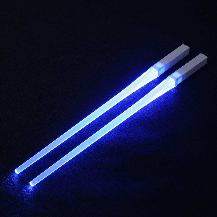 Cặp Đèn LED Thắp Sáng Hình Đũa