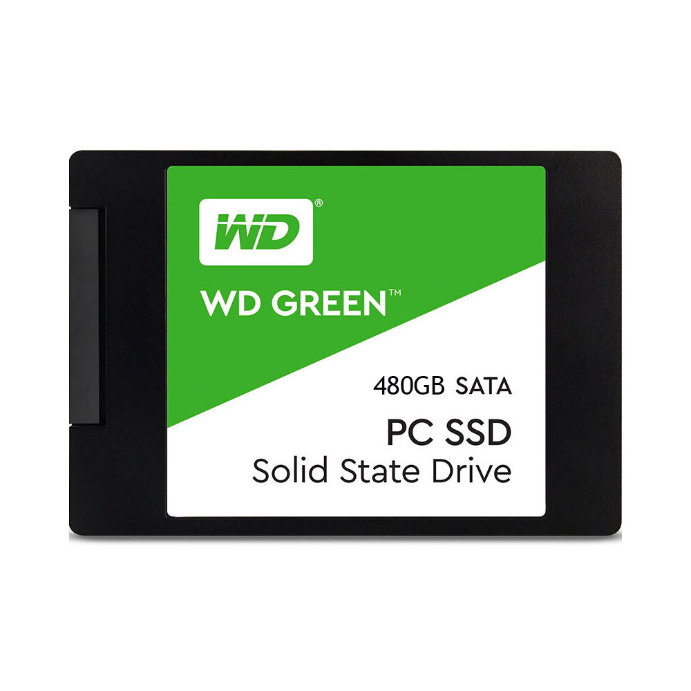 WD Green 480GB PC SSD SATA 6GB/s 2.5in Solid State Drive (WDS480G2G0A)