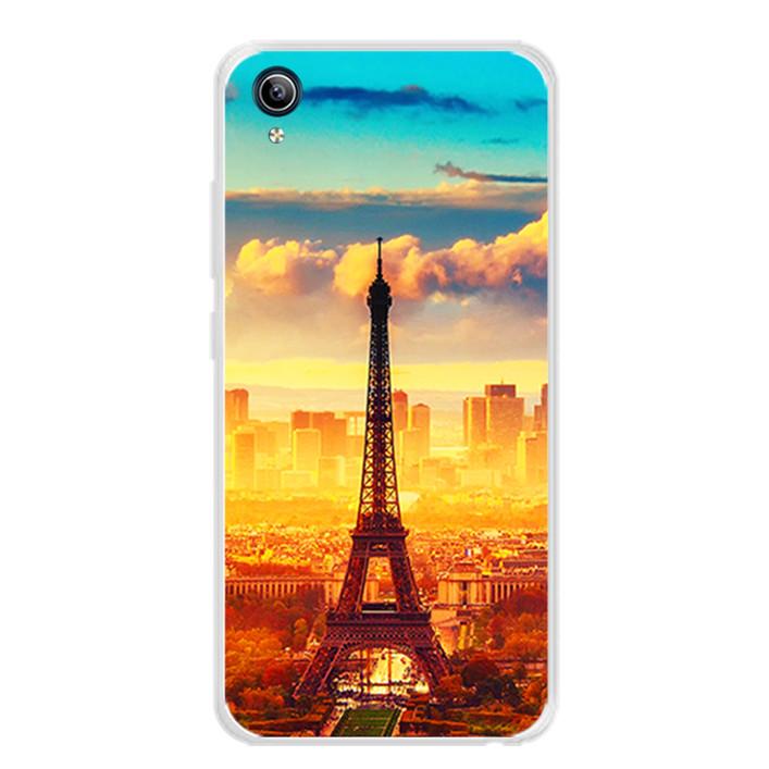 Ốp lưng dẻo cho điện thoại Vivo Y91C - 0299 PARIS01 - Hàng Chính Hãng