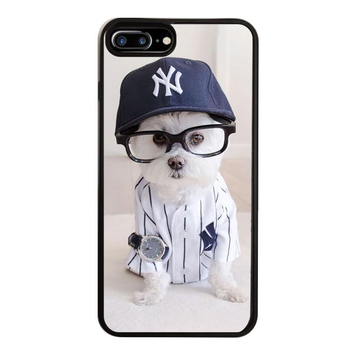 Ốp Lưng Kính Cường Lực Dành Cho Điện Thoại iPhone 7 Plus / 8 Plus Puppy Cute Mẫu 8