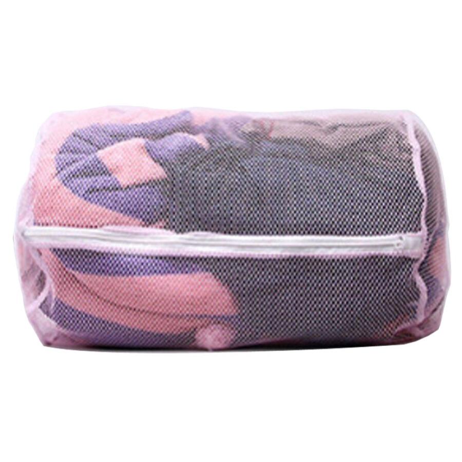 [Jingdong supermarket] Yunlei laundry bag large grid tube type washing bag 30 * 46cm 12087