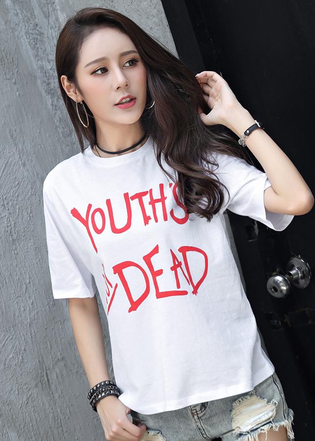 Áo Thun Nữ Youth - 2375342 , 2090202273577 , 62_15630080 , 378000 , Ao-Thun-Nu-Youth-62_15630080 , tiki.vn , Áo Thun Nữ Youth