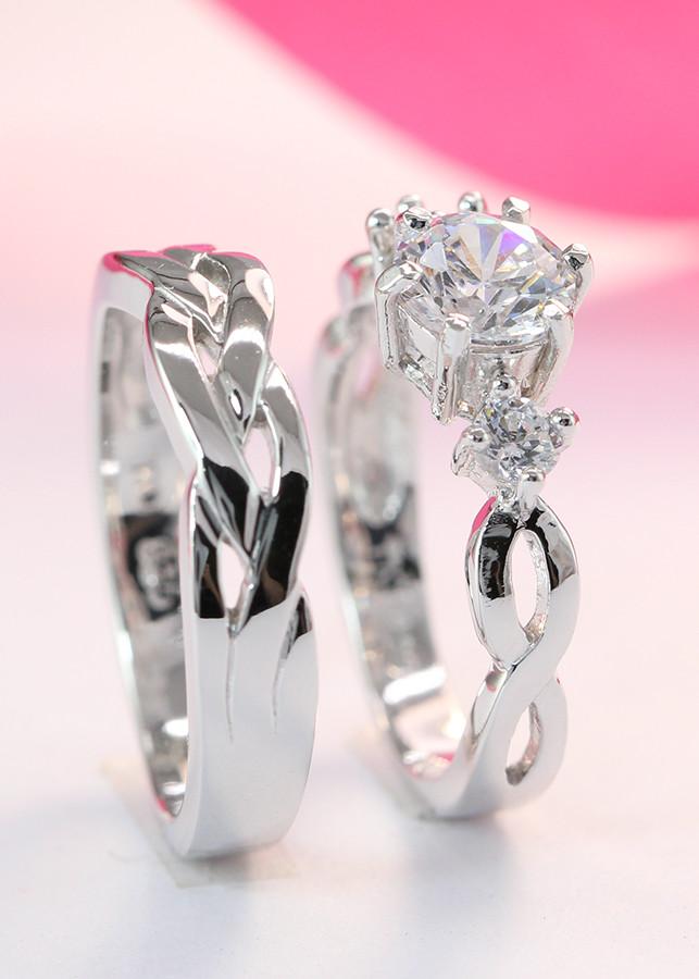 Nhân đôi bạc nhẫn cặp bạc đẹp vô cực ND0181 - 1790788 , 2144400993901 , 62_9722739 , 550000 , Nhan-doi-bac-nhan-cap-bac-dep-vo-cuc-ND0181-62_9722739 , tiki.vn , Nhân đôi bạc nhẫn cặp bạc đẹp vô cực ND0181