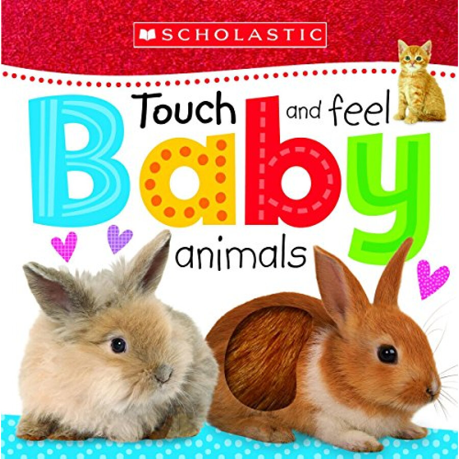 Scholastic Early Learners: Touch And Feel Baby Animals - 1240515 , 5361198340077 , 62_5279329 , 160000 , Scholastic-Early-Learners-Touch-And-Feel-Baby-Animals-62_5279329 , tiki.vn , Scholastic Early Learners: Touch And Feel Baby Animals