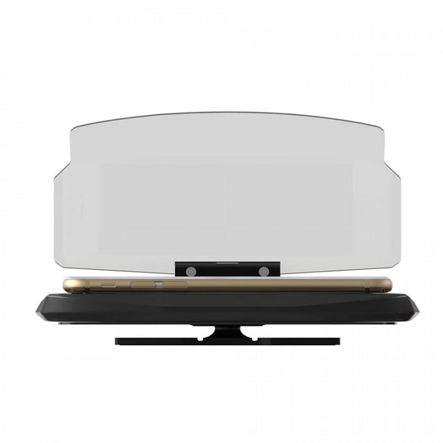 Universal Plastic Car Vehicle Navigation Multifunctional Folding HUD Display Intelligent Phone Holder