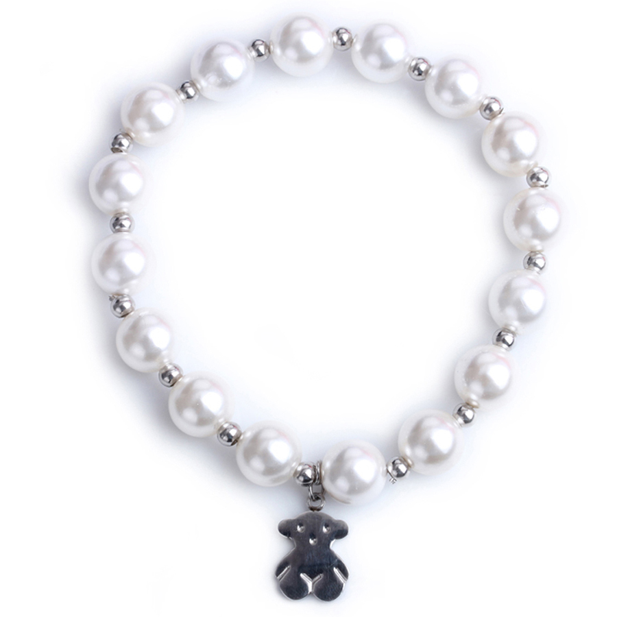 Artificial Pearls Bracelet Vacuum Plating Fashionable Women Chain jewelry