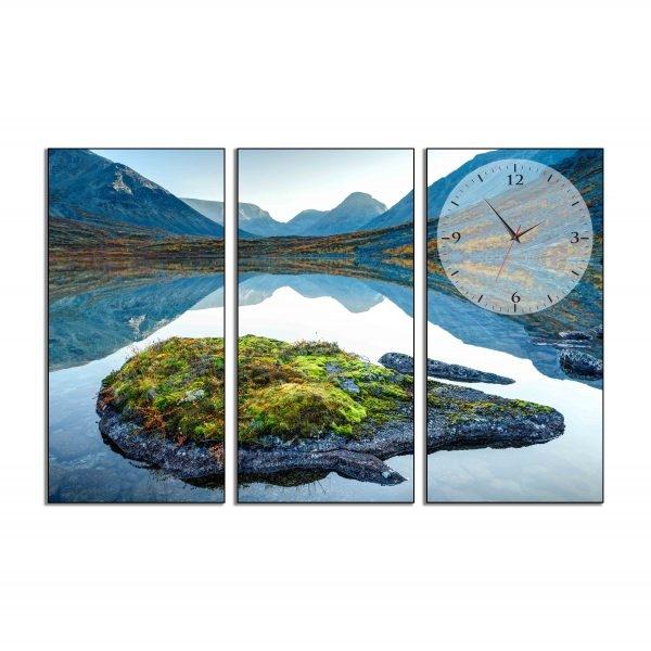 Tranh đồng hồ in Canvas Lòng hồ bao dung - 3 mảnh - 7074618 , 3098583364616 , 62_10355161 , 1435000 , Tranh-dong-ho-in-Canvas-Long-ho-bao-dung-3-manh-62_10355161 , tiki.vn , Tranh đồng hồ in Canvas Lòng hồ bao dung - 3 mảnh