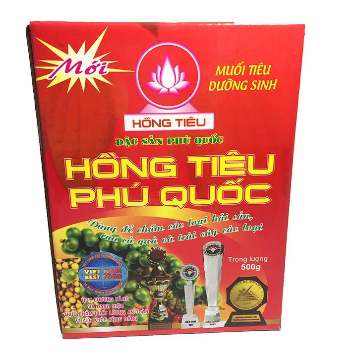 Muối Hồng Tiêu Phú Quốc 500g