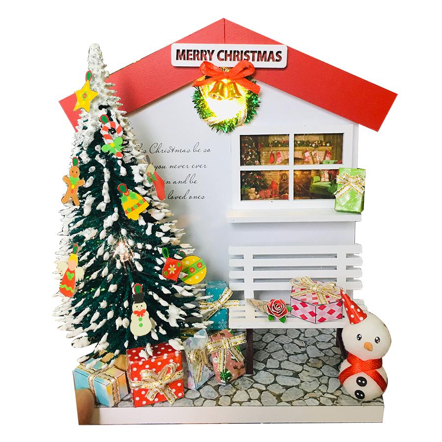 Mô Hình Gỗ DIY Noel Để Bàn - Cây Thông Giáng Sinh - 757629 , 6715895373712 , 62_8073397 , 175000 , Mo-Hinh-Go-DIY-Noel-De-Ban-Cay-Thong-Giang-Sinh-62_8073397 , tiki.vn , Mô Hình Gỗ DIY Noel Để Bàn - Cây Thông Giáng Sinh