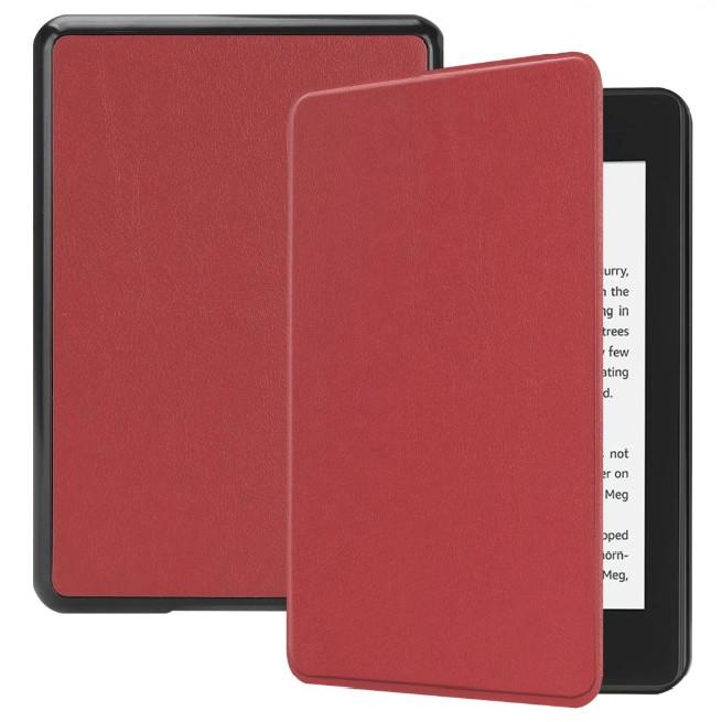 Combo Máy Đọc Sách Kindle Paperwhite Gen 10 (8GB - Màu Đen) và Bao Da Trơn