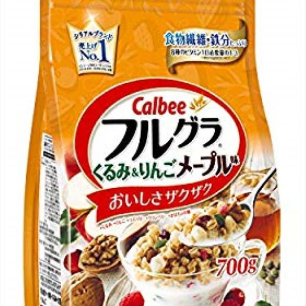 Ngũ cốc Calbee Furugura  5 màu - 15710719 , 9197091626583 , 62_17998329 , 350000 , Ngu-coc-Calbee-Furugura-5-mau-62_17998329 , tiki.vn , Ngũ cốc Calbee Furugura  5 màu
