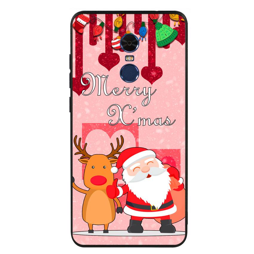 Ốp lưng viền TPU cho điện thoại Xiaomi Redmi Note 4 - Xmas 04