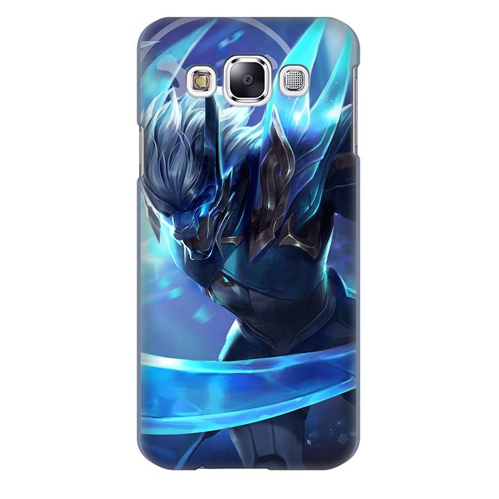 Ốp lưng nhựa cứng nhám dành cho Samsung Galaxy E5 in hình Nakroth Khieu Chien AIC