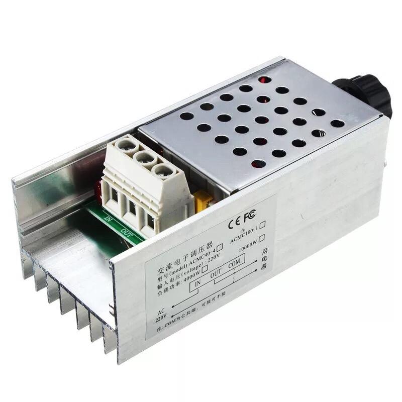 Dimmer 6000W- Bộ điều chỉnh AC 6000W 220V BTA41600 D00-185