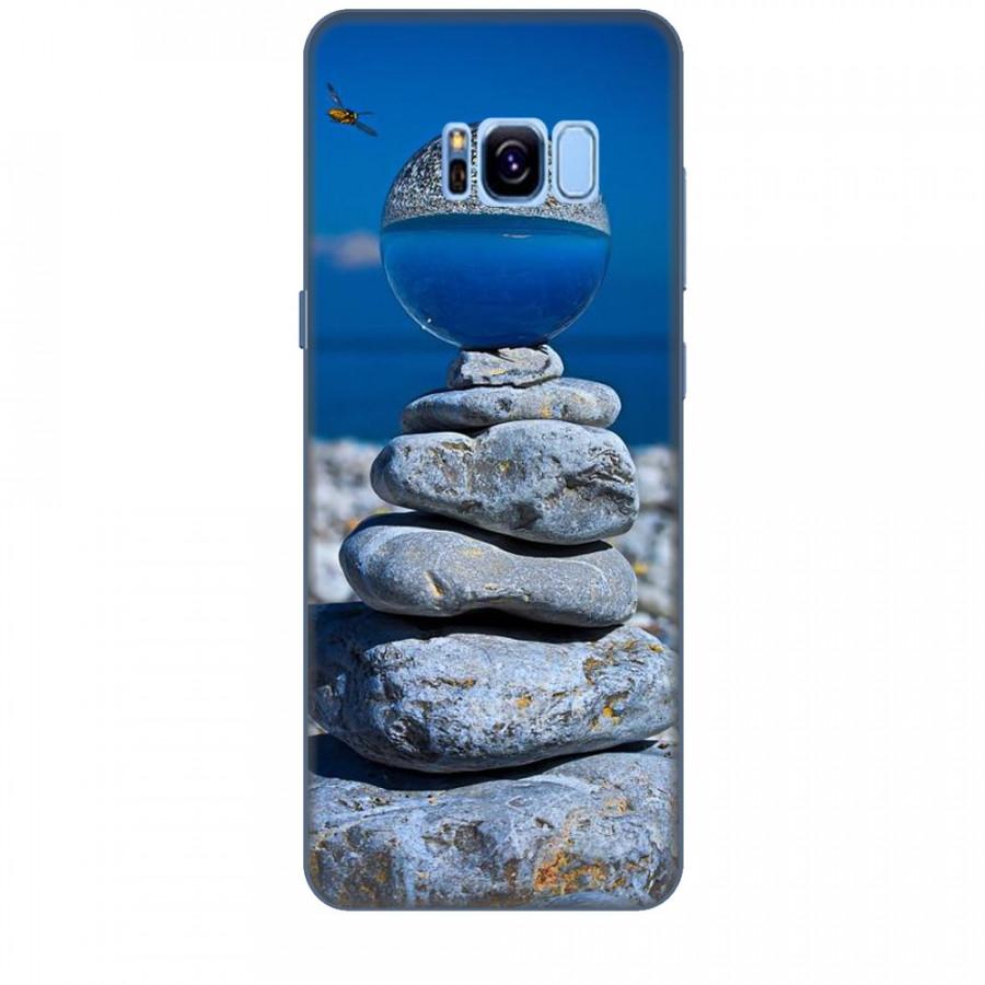 Ốp lưng dành cho điện thoại  SAMSUNG GALAXY S8 PLUS Đá Ngủ Sắc