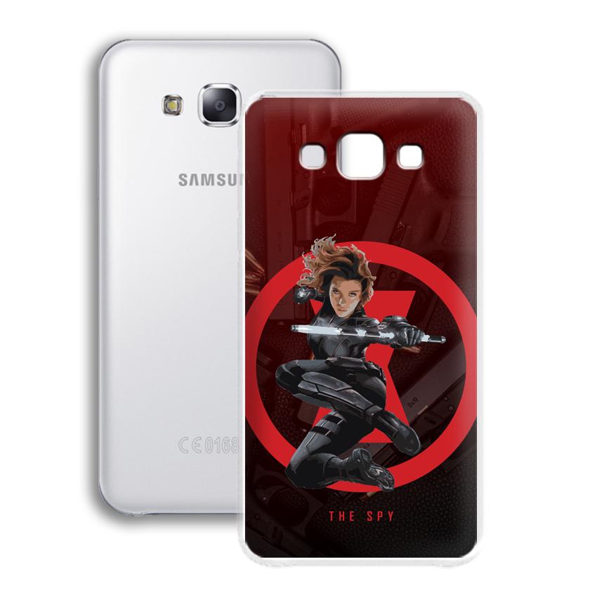 Ốp lưng cho điện thoại Samsung Galaxy E7 - 01082 0538 SPY01 - Silicone dẻo - Hàng Chính Hãng