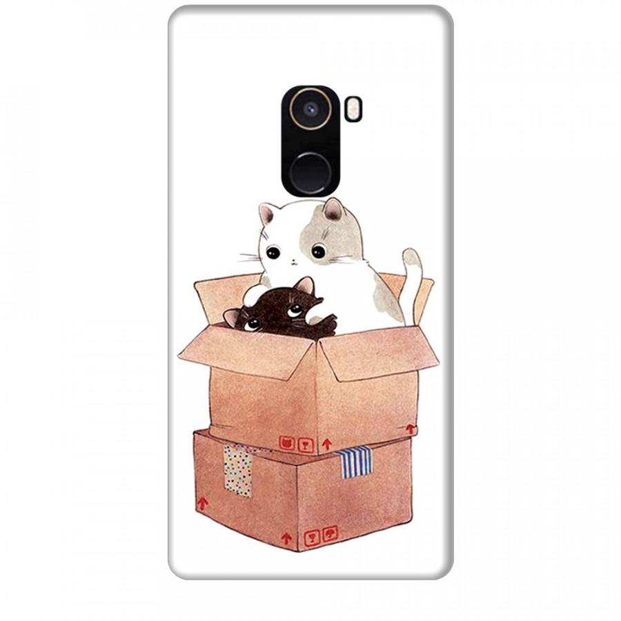 Ốp lưng dành cho điện thoại XIAOMI MI MIX 2 Mèo Con Dễ Thương