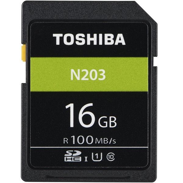 Thẻ nhớ Toshiba SDHC 16gb  100Mb/s -N203