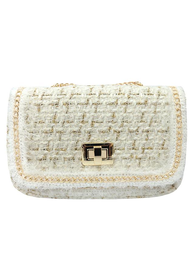 Túi đeo chéo nữ len sang trọng 074-075